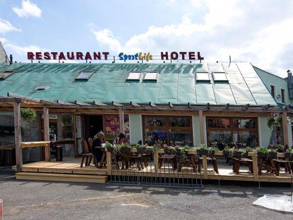 Terasa naší restaurace