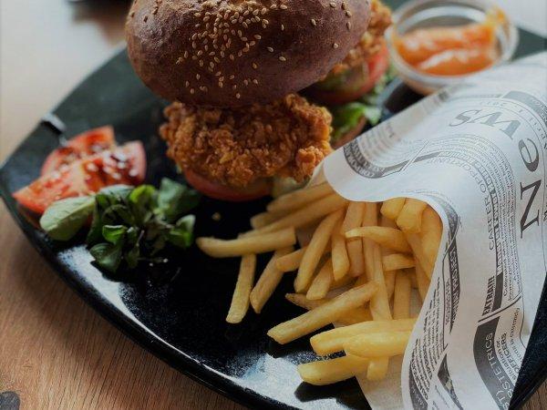 Burger&strips